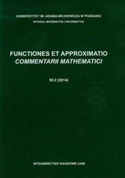 Functiones et approximatio 50.2