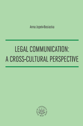 Legal Communication: A Cross-Cultural Perspective - pdf