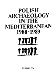 Polish Archaeology in the Mediterranean I. Reports 1988-1989 - PDF
