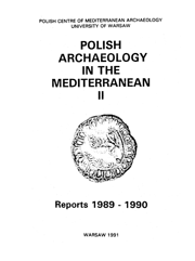 Polish Archaeology in the Mediterranean II. Reports 1989-1990 - PDF