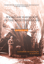 Polish Archaeology in the Mediterranean XII. Reports 2000. Kazimierz Michałowski in Memoriam - PDF