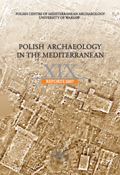 Polish Archaeology in the Mediterranean XIX. Reports 2007 - PDF