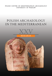Polish Archaeology in the Mediterranean XXV. Research