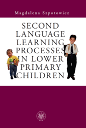 Second Language Learning Processes in Lower Primary Children. Vocabulary Acquisition - PDF