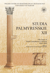 Studia Palmyreńskie XII. Fifty Years of Polish Excavations in Palmyra 1959-2009 - PDF
