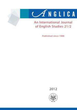 Anglica. An International Journal of English Studies 2012 21/2