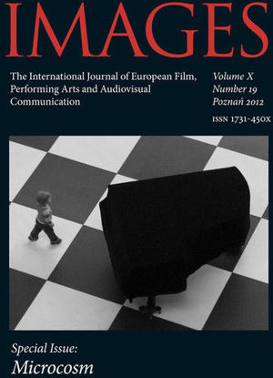 Images The International Journal of European Film, Performing Arts and Audiovisual Communication