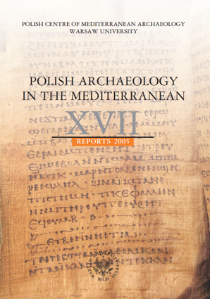 Polish Archaeology in the Mediterranean XVII. Reports 2005 - PDF