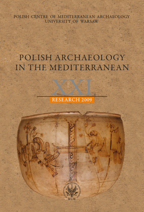 Polish Archaeology in the Mediterranean XXI. Research 2009 - PDF