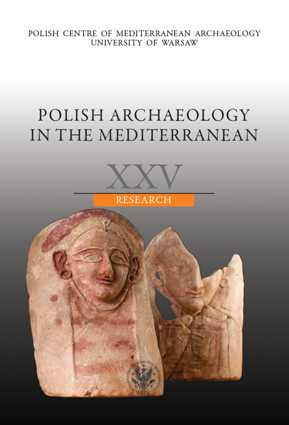 Polish Archaeology in the Mediterranean XXV. Research - PDF