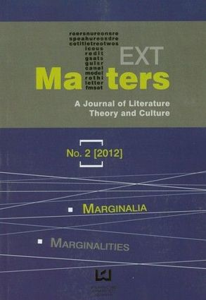 Text Matters A Journal of Literature Theory and Culture 2/2012