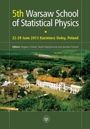 5th Warsaw School of Statistical Physics - PDF