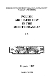 Polish Archaeology in the Mediterranean IX. Reports 1997 - PDF