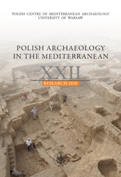 Polish Archaeology in the Mediterranean XXII. Research 2010 - PDF