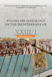 Polish Archaeology in the Mediterranean XXIII/1. Research 2011 - PDF