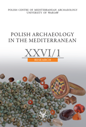 Polish Archaeology in the Mediterranean XXVI/1. Research – PDF