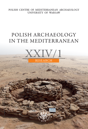 Polish Archaeology in the Mediterranean XXIV/1. Research. Fieldwork and Studies - PDF