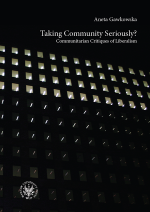 Taking Community Seriously? Communitarian Critiques of Liberalism - PDF