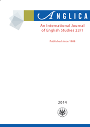 Anglica. An International Journal of English Studies 2014 23/1 - PDF