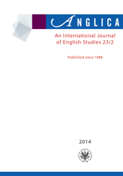 Anglica. An International Journal of English Studies 2014 23/2 - PDF