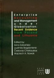 Enterprise accounting and management under globalization: recent evidence from Poland and Lithuania