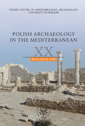 Polish Archaeology in the Mediterranean XX. Research 2008