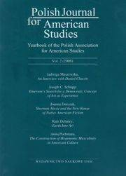 Polish Journal for American Studies vol. 2 (2008)