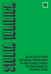 Studia Iuridica, nr 62. Legal Education and Legal Profession in the Global World Polish-American Perspectives - PDF