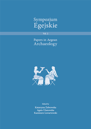 Sympozjum Egejskie. Papers in Aegean Archaeology. Volumen 2 – PDF