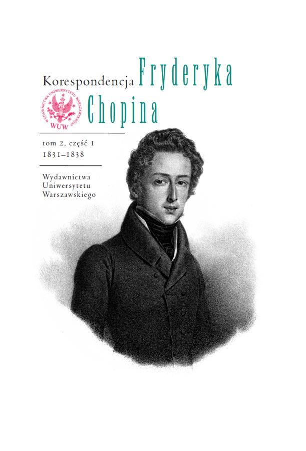 8cbf5d80246ec Drugi z trzech tomów korespondencji Fryderyka Chopina, bogato ilustrowany,  m.in. autografami listów, opatrzony indeksami, wykazami źródeł,  miscellaneami, ...