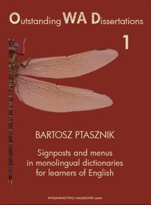 Signposts and menus in monolingual dictionaries for learners of English