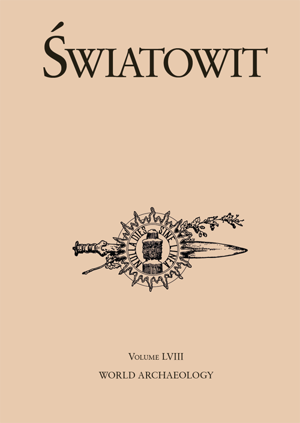 Światowit. Volume LVIII. World Archaeology – PDF